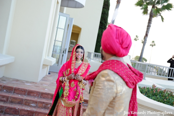 Indian-wedding-first-look-for-bride-groom