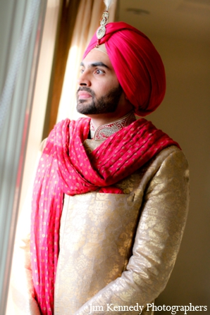 Indian-wedding-groom-sherwani-turban-tradtional