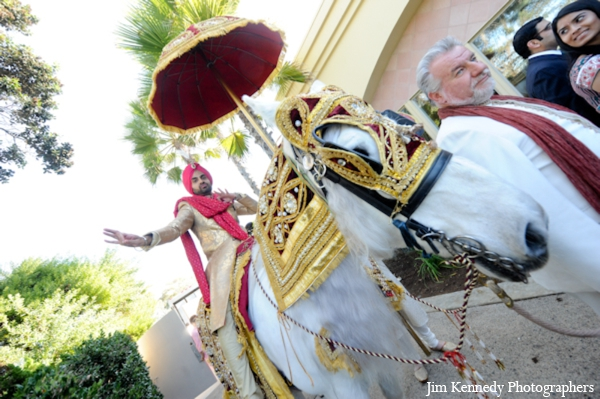 Indian-wedding-groom-white-horse-baraat