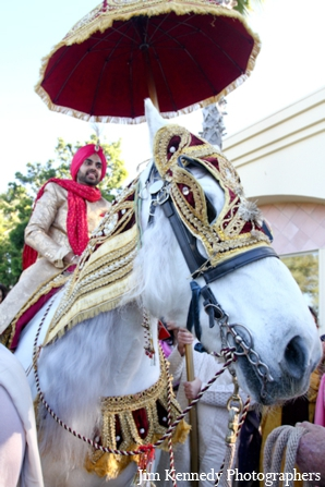 Indian-wedding-groom-white-horse-celebration-baraat
