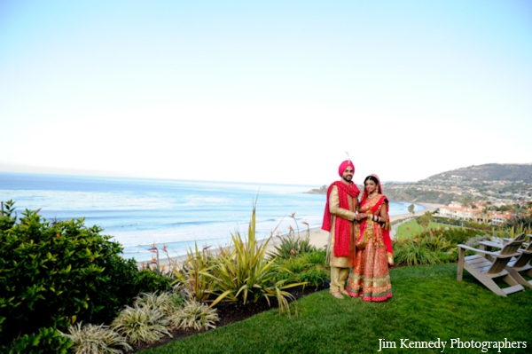 Indian-wedding-outdoor-ocean-portrait