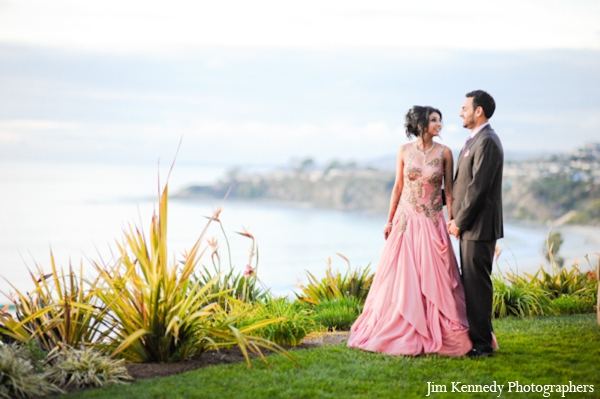 Indian-wedding-portrait-bride-groom-ocean