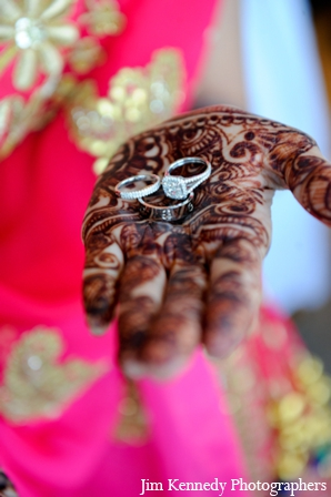 Indian-wedding-portrait-henna-hands-diamond-rings