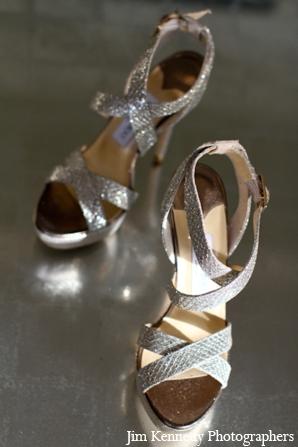 Indian-wedding-silver-reception-high-heels