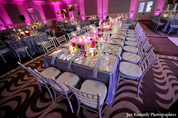 Indian-wedding-venue-reception-ideas-modern-lighitng