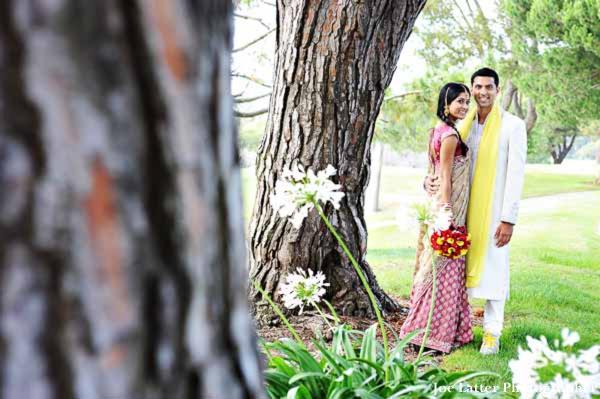 Indian-wedding-bride-groom-portrait-nature