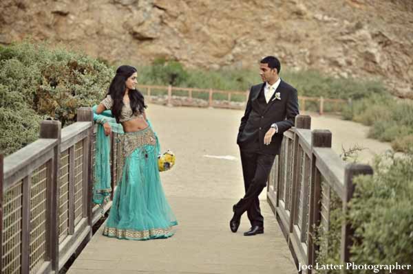 Indian-wedding-bride-groom-portrait-outdoors