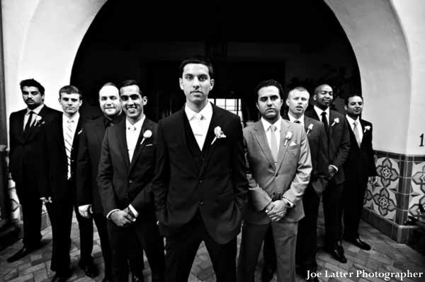 Indian-wedding-groom-groomsmen-portrait