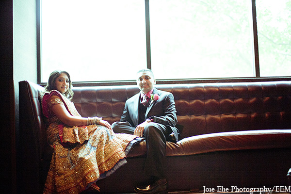 Indian bride groom portraits wedding in New Brunswick, NJ Indian Wedding by Joie Elie Photography