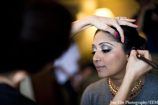 indian wedding makeup,indian bride makeup,joie elie photography