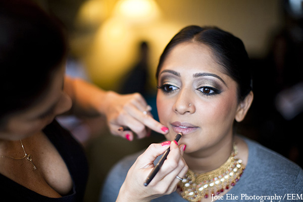 indian bridal hair and makeup,indian wedding makeup,indian bride makeup,joie elie photography