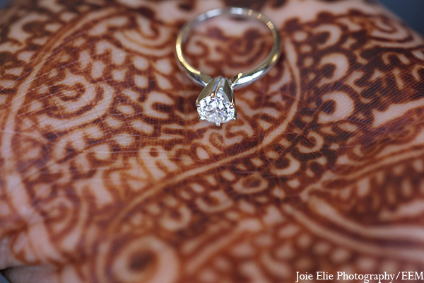 Indian wedding bridal mehndi jewelry in New Brunswick, NJ Indian Wedding by Joie Elie Photography