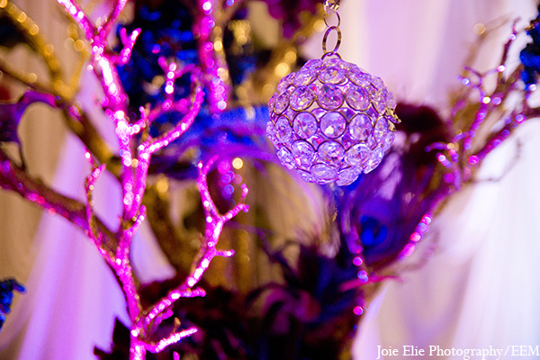 Indian wedding decor lighting photography in New Brunswick, NJ Indian Wedding by Joie Elie Photography