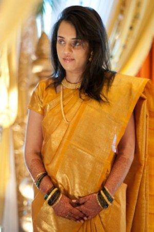 Indian-wedding-mumbai-yellow sari