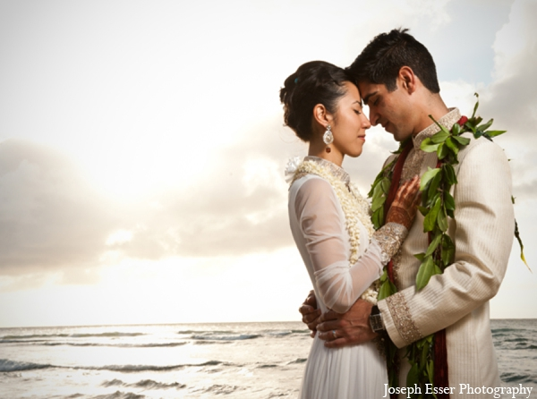 Indian wedding destination beach floral