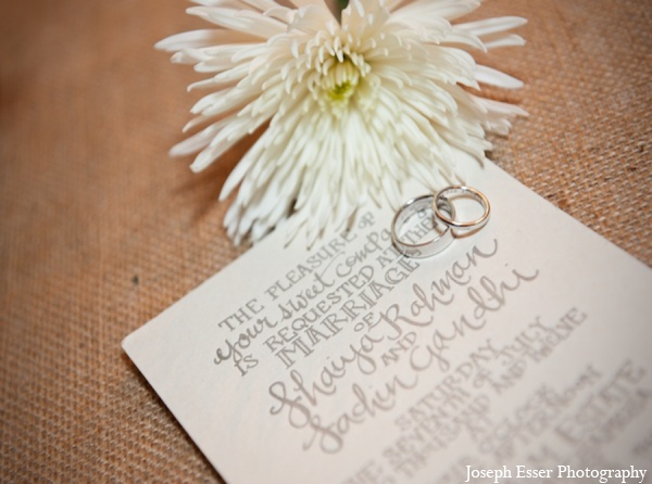 Indian Wedding Invitation Stationary