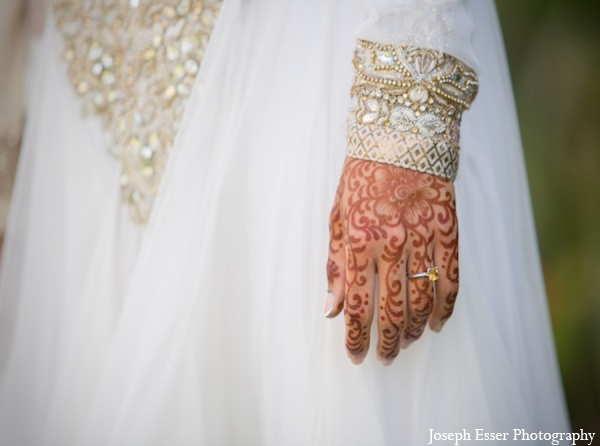 Indian wedding mehndi lengha