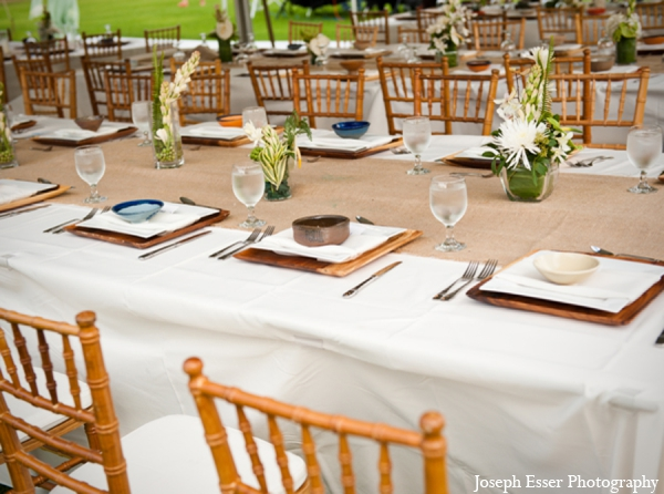 Indian wedding outdoor table decor