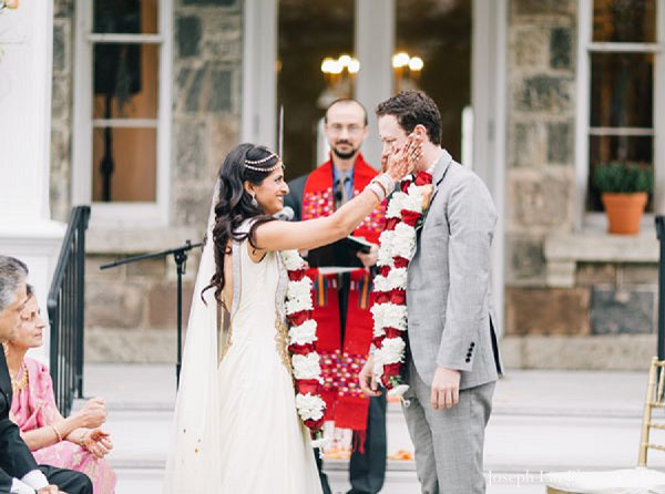 Indian wedding ceremony traditional in Greenport, NY Indian Fusion Wedding by Joseph Lin Photography