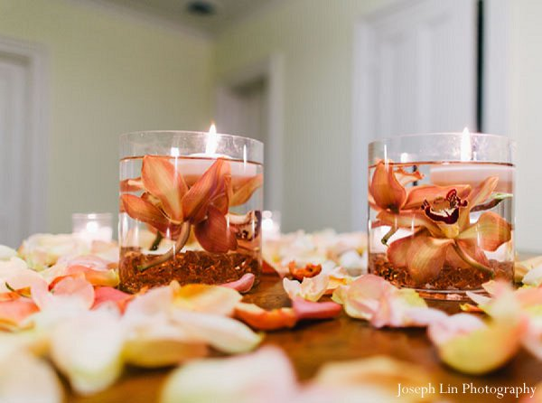 Indian wedding floral style in Greenport, NY Indian Fusion Wedding by Joseph Lin Photography