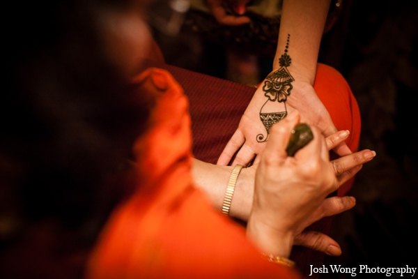 Bridal mehndi party in North Brunswick, NJ Indian Wedding by Josh Wong Photography