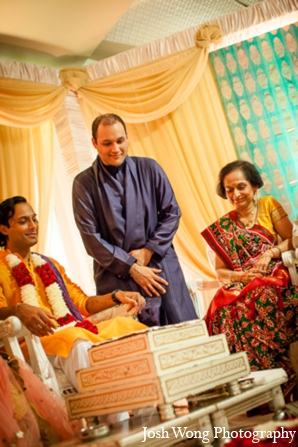 Hindu wedding ceremony elements in North Brunswick, NJ Indian Wedding by Josh Wong Photography