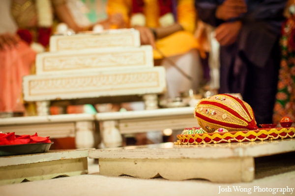 Hindu wedding element in North Brunswick, NJ Indian Wedding by Josh Wong Photography