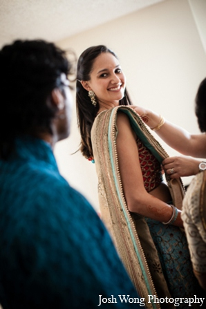 Indian bride fashion in North Brunswick, NJ Indian Wedding by Josh Wong Photography