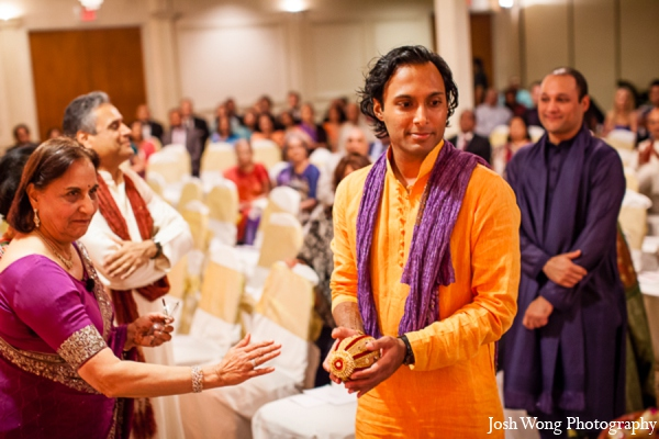 Indian groom in North Brunswick, NJ Indian Wedding by Josh Wong Photography