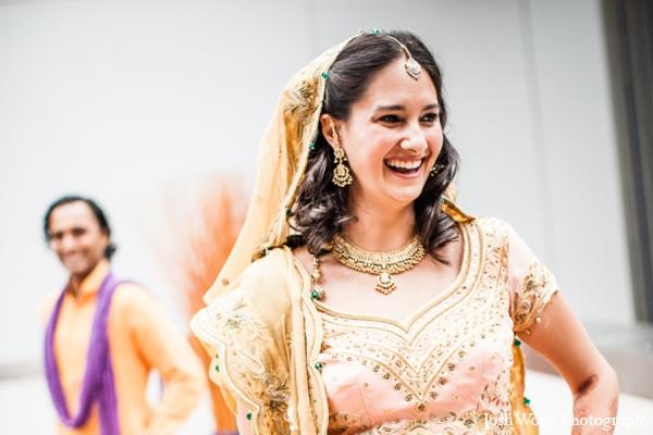 Indian wedding bridal jewelry in North Brunswick, NJ Indian Wedding by Josh Wong Photography