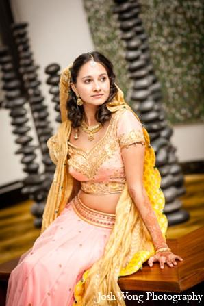Indian wedding bridal photo in North Brunswick, NJ Indian Wedding by Josh Wong Photography