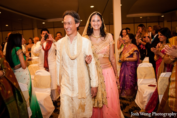 Indian wedding bride in North Brunswick, NJ Indian Wedding by Josh Wong Photography