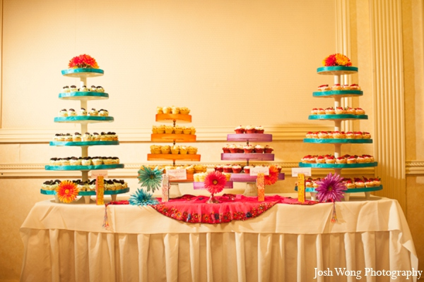 Indian wedding cake in North Brunswick, NJ Indian Wedding by Josh Wong Photography