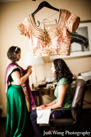 Indian wedding choli lehenga in North Brunswick, NJ Indian Wedding by Josh Wong Photography
