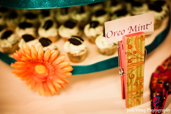 Indian wedding cupcakes in North Brunswick, NJ Indian Wedding by Josh Wong Photography