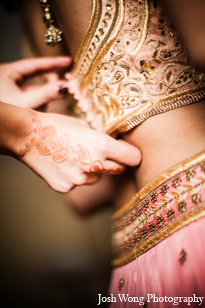 Indian wedding dress in North Brunswick, NJ Indian Wedding by Josh Wong Photography