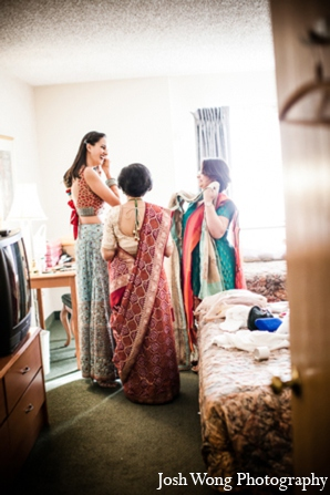 Indian wedding fashion bride in North Brunswick, NJ Indian Wedding by Josh Wong Photography