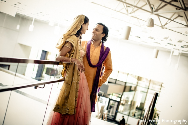 Indian wedding portrait idea in North Brunswick, NJ Indian Wedding by Josh Wong Photography