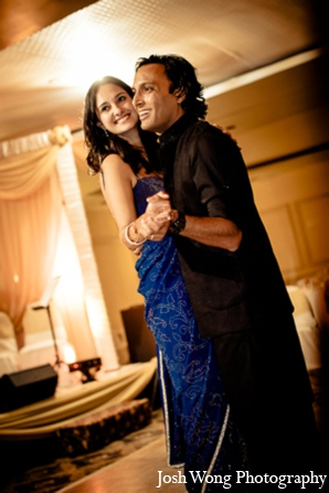 Indian wedding reception image in North Brunswick, NJ Indian Wedding by Josh Wong Photography