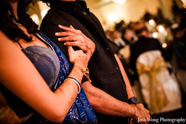 Indian wedding reception outfits in North Brunswick, NJ Indian Wedding by Josh Wong Photography