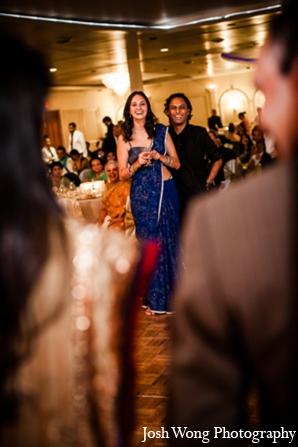 Indian wedding reception in North Brunswick, NJ Indian Wedding by Josh Wong Photography