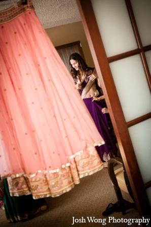 Indian wedding sari in North Brunswick, NJ Indian Wedding by Josh Wong Photography