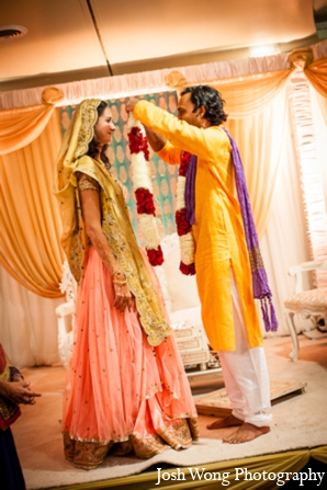 Indian wedding ceremony decor in North Brunswick, NJ Indian Wedding by Josh Wong Photography
