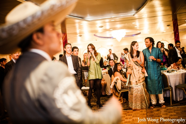 Sangeet entertainment in North Brunswick, NJ Indian Wedding by Josh Wong Photography