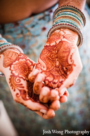 Sangeet mehndi in North Brunswick, NJ Indian Wedding by Josh Wong Photography