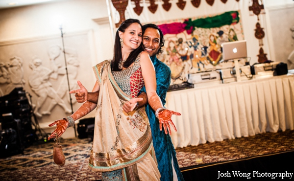 red,gold,teal,white,traditional indian wedding,indian wedding traditions,indian wedding outfits,indian wedding outfits for brides,Josh Wong Photography