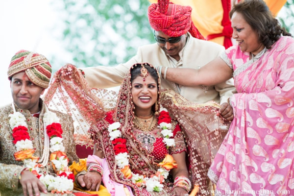 Indian-weddin-bride-groom-at-mandap