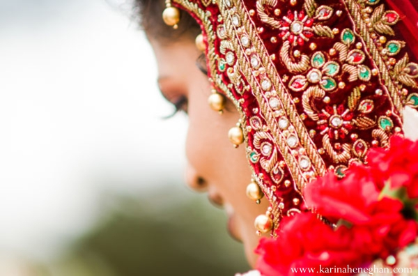 Indian-wedding-bridal-portrait-outdoors