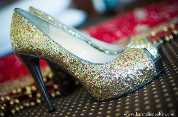 Indian-wedding-bridal-shoes-glitter-inspiration