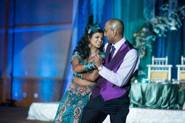 Indian-wedding-bride-groom-dance